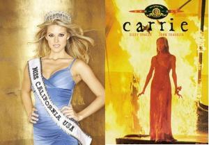 Se Carrie fosse, sanatório conheceria!