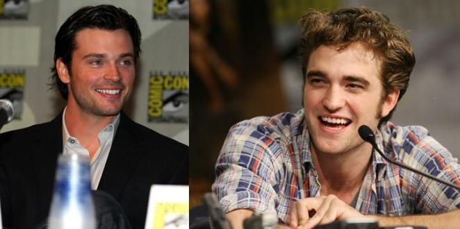 Tom Welling (Smallville) e o Vampiro de Crepúsculo, Robert Pattison