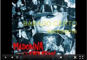 Assista clipe da Madonna