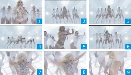 Coreo Lady Gaga  Bad Romance