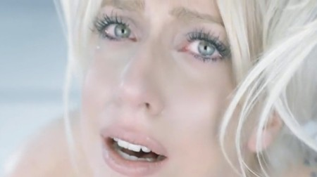 lady gaga bad romance cry