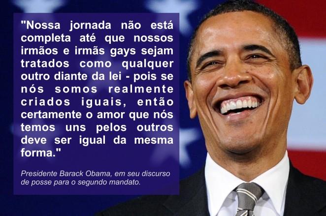 imagem da semana Barack Obama gays segundo mandato
