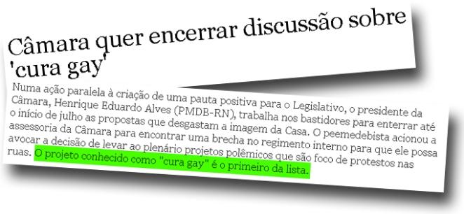 ACABÁ COM A CURA GAY