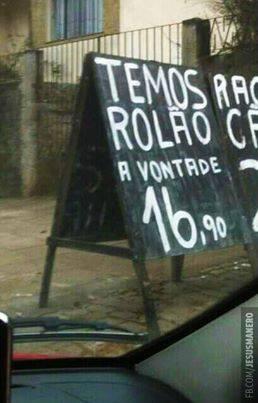 #Rapidinhas: Isso é que é promoção!
