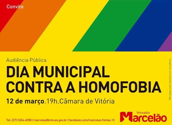 Dia mjunicipal contra homofobia